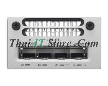 Catalyst 3850 4 x Gigabit Ethernet / 2 x 10 Gigabit Ethernet network module