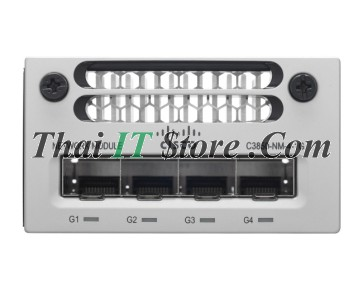 Catalyst 3850 4 x Gigabit Ethernet network module