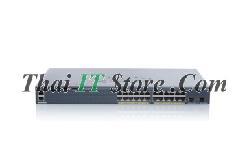 [WS-C2960X-24PD-L] Catalyst 2960X 24 port 10/100/1000 POE+ 370W, 2 x 10G SFP+, LAN Base