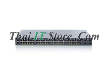 [WS-C2960X-48LPS-L] Catalyst 2960X 48 port 10/100/1000 POE+ 370W, 4 x 1G SFP, LAN Base