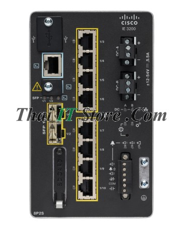 Catalyst IE-3200 8 PoE copper ports, 2 fiber SFPs, Network Essentials
