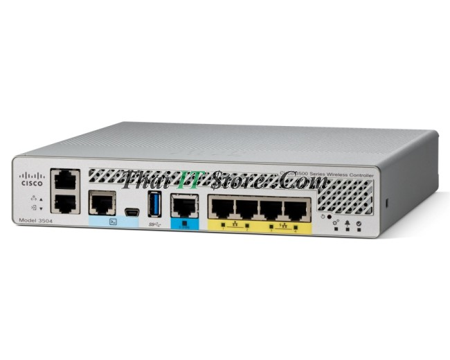 Cisco 3500 Wireless Controllers   AIR-CT3504-K9 Wireless Controller 3504, 0  AP License