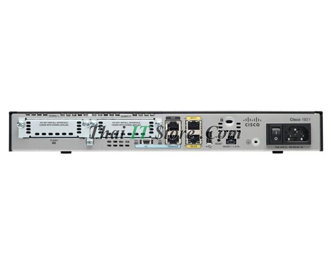 Cisco | CISCO1921/K9 Router 1921 ISR ยกเลิกการจำหน่าย (ยังมีของในสต็อก)