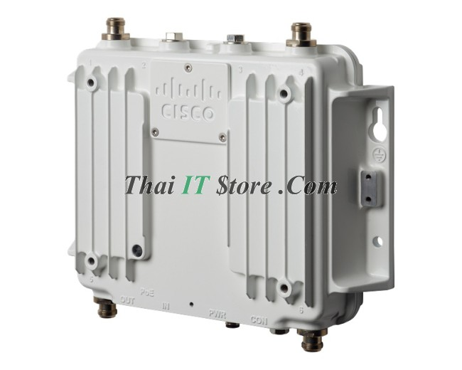 Cisco Industrial Wireless 3700 | IW3702-2E-S-K9 Industrial Wireless AP  3702, 4 RF ports on top/btm, S domain