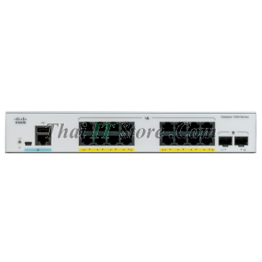 C1000-16T-E-2G-L 16x 10/100/1000 Ethernet ports, 2x 1G SFP uplinks with external PS