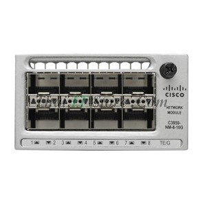 Catalyst 3850 8 x Gigabit Ethernet/8 x 10 Gigabit Ethernet network module