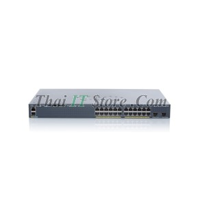 [WS-C2960X-24PD-L] Catalyst 2960X 24 port 10/100/1000 POE+ 370W, 2 x 10G SFP+, LAN Base