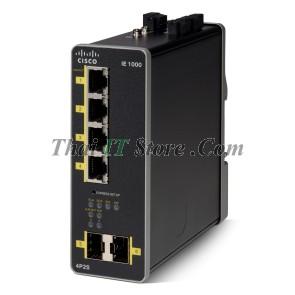 IE-1000 4 Port 10/100 PoE / PoE+, 2x 1G SFP, 48-54V