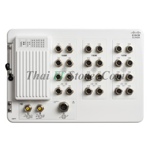 Catalyst IE3400 Heavy Duty, 24 FE M12 interfaces, Network Essentials