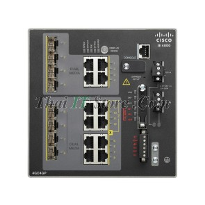 IE-4000 4 x combo 1G with 4 x 1G PoE, 4 x 1G Combo, LAN Base