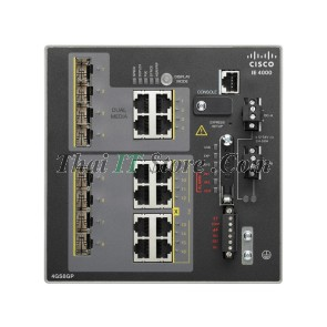 IE-4000 4 x SFP 1G with 8 x 1G PoE, 4 x 1G Combo, LAN Base