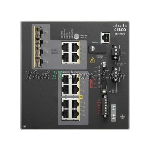 IE-4000 8 x RJ45 10/100M, 4 x 1G Combo, LAN Base