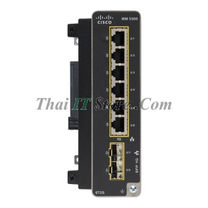 Catalyst IE3300 Rugged 6 Port GE Copper + 2 Port SFP Module