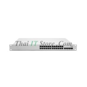 Meraki MS350-24P L3 Stck Cld-Mngd 24x GigE 370W PoE Switch