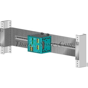 [STK-RACK-DINRAIL=] Industrial Ethernet 19 in. DIN Rail mount kit