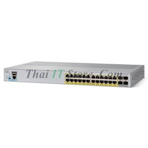 [WS-C2960L-24PS-AP] Catalyst 2960L 24 port 10/100/1000 Ethernet PoE+ ports, 4 x 1G SFP