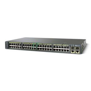 ขาย Cisco Catalyst 2960 Plus 48 Port 10/100 PoE Uplink 2x1GET/SFP LAN Lite [WS-C2960+48PST-S] ราคาถูก