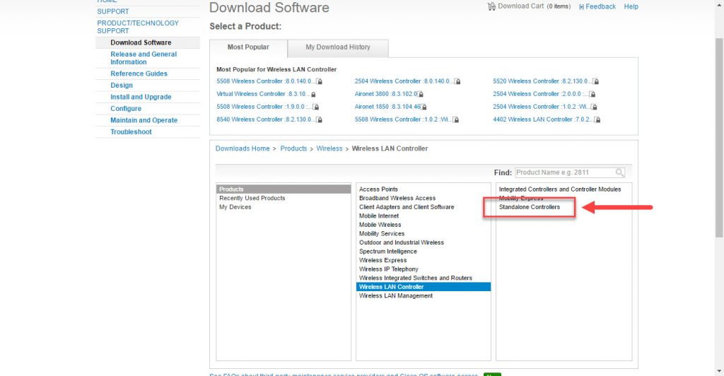 Basic Installation: Cisco Wireless Controller 2504 Upgrade