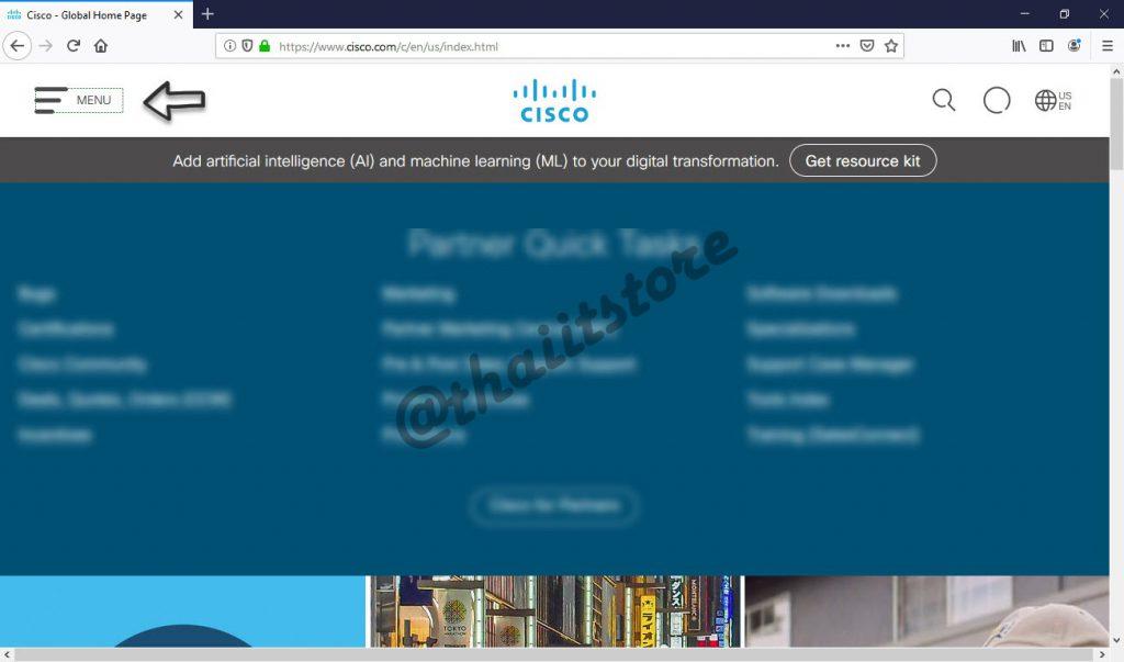 วิธี Download Cisco Firmware, IOS / Knowledge Base